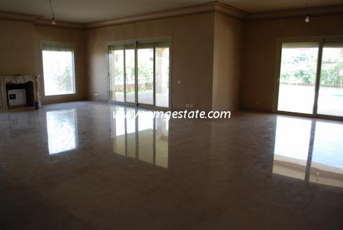 Villa For Rent In Katameya Heights With Pool New Finishing