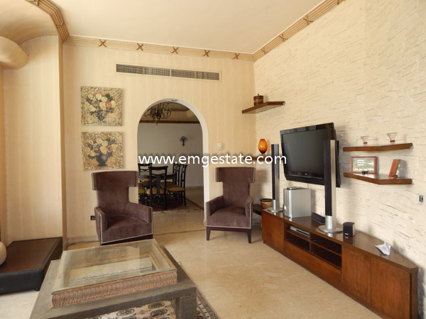 Villa For Rent In Katameya Heights Over Looking The Golf