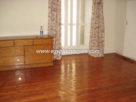 Villa In Old Maadi Sarayat For Rent Semi Furnished With A